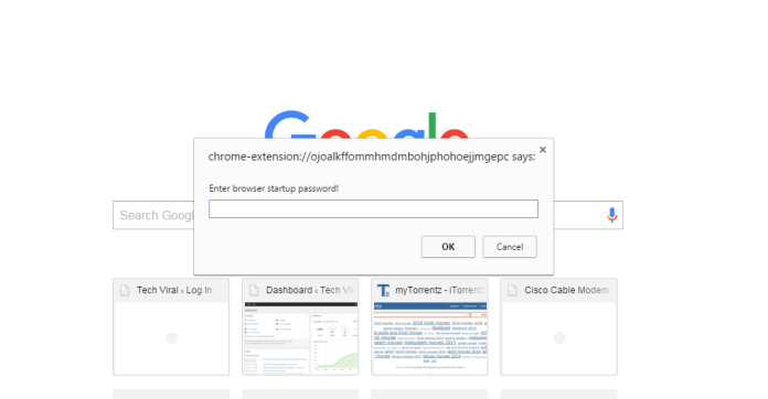How To Lock Your Google Chrome Browser With Password
