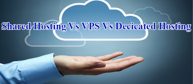 Difference Between Shared, VPS and Dedicated Hosting