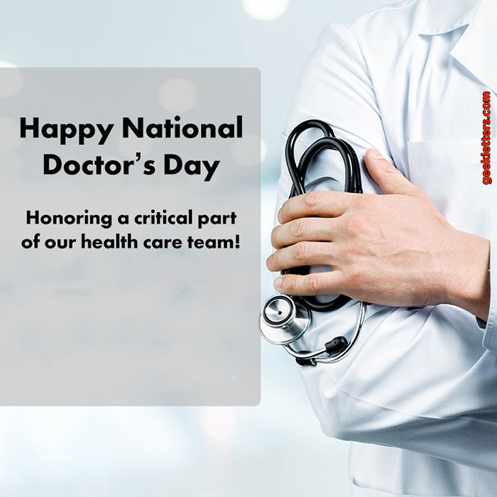 doctor day India 1 July