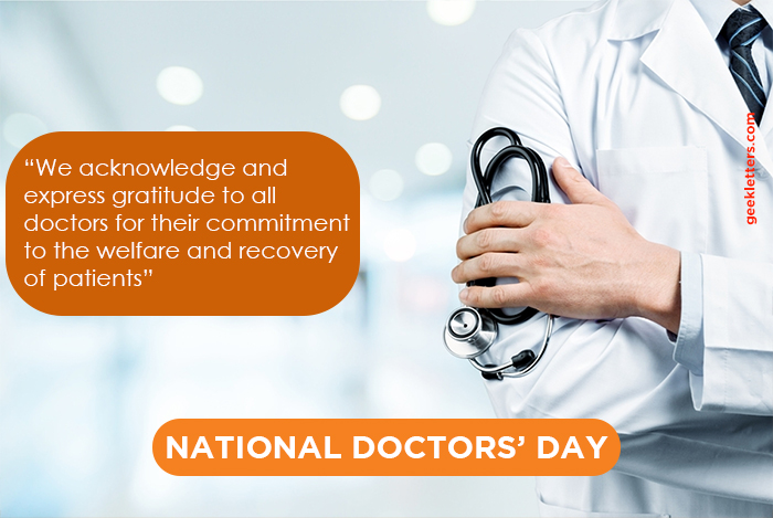 doctor day quote india