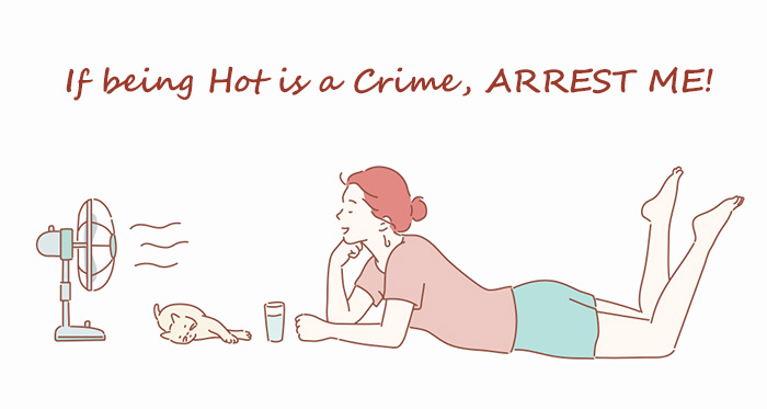 If being Hot is a Crime ARREST ME!