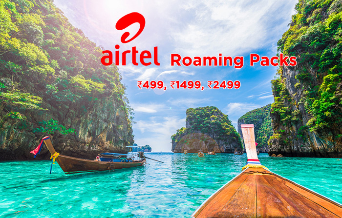 Airtel Thailand Roaming Packs