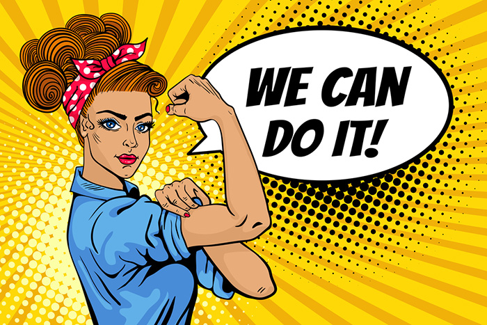 we can do it girl attitude dp for whatsapp